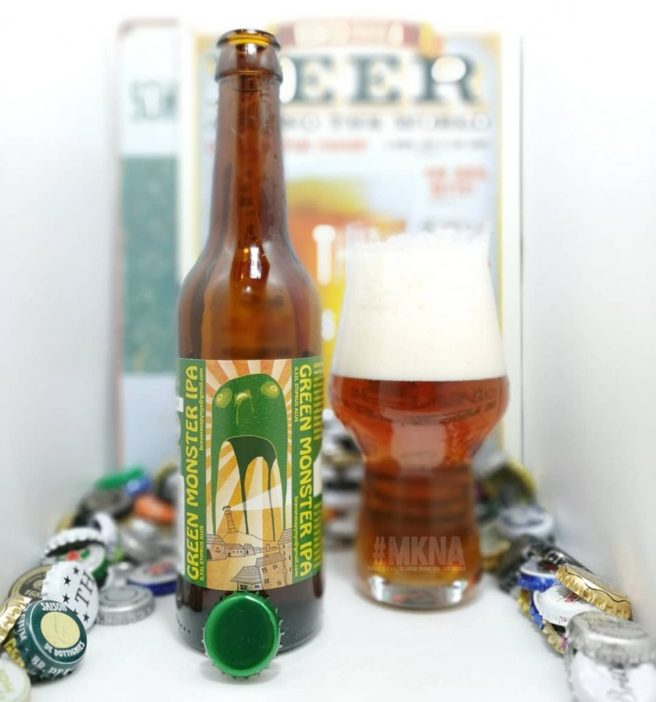 Green Monster IPA Apynys Brewing
